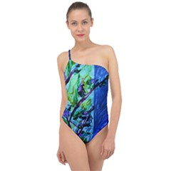 House Will Be Built 1 Classic One Shoulder Swimsuit
