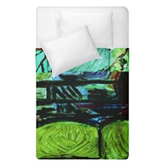 House Will Be Built Duvet Cover Double Side (single Size)