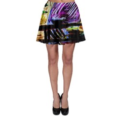 House Will Be Built 6 Skater Skirt