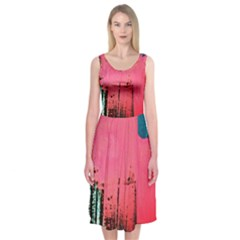Humidity 12 Midi Sleeveless Dress