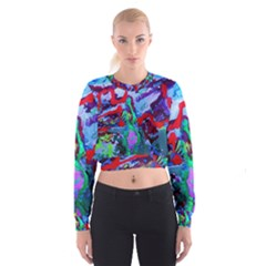 Desert Blooming 1/1 Cropped Sweatshirt