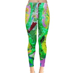 Desert Blooming 1/2 Leggings