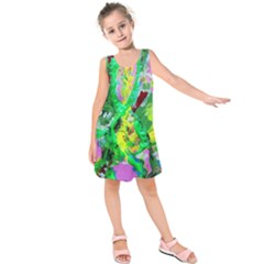 Desert Blooming 1/2 Kids  Sleeveless Dress
