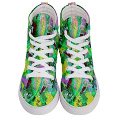 Desert Blooming 1/2 Men s Hi Top Skate Sneakers