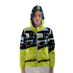 House Will Be Built 5 Hooded Wind Breaker (women)