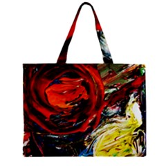 Sunset In A Mountains Zipper Mini Tote Bag