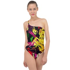 Spooky Attick 1 Classic One Shoulder Swimsuit
