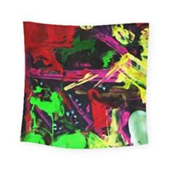 Spooky Attick 2 Square Tapestry (small)