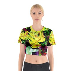 Spooky Attick 3 Cotton Crop Top