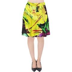 Spooky Attick 3 Velvet High Waist Skirt