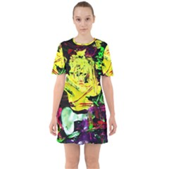 Spooky Attick 3 Sixties Short Sleeve Mini Dress