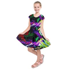 Spooky Attick 5 Kids  Short Sleeve Dress