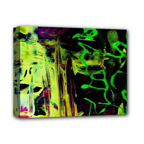 Spooky Attick 6 Deluxe Canvas 14  X 11  by bestdesignintheworld