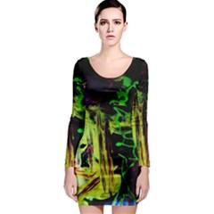 Spooky Attick 6 Long Sleeve Bodycon Dress
