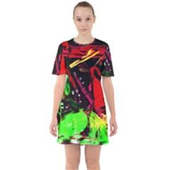 Spooky Attick 8 Sixties Short Sleeve Mini Dress
