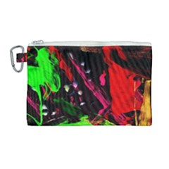 Spooky Attick 8 Canvas Cosmetic Bag (large) by bestdesignintheworld