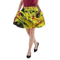 Spooky Attick 9 A Line Pocket Skirt