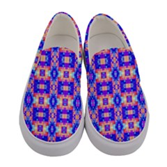 Artwork By Patrick Colorful 33 Women s Canvas Slip Ons