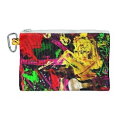 Spooky Attick 11 Canvas Cosmetic Bag (large) by bestdesignintheworld