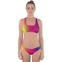 Background Wallpaper Design Texture Cross Back Hipster Bikini Set