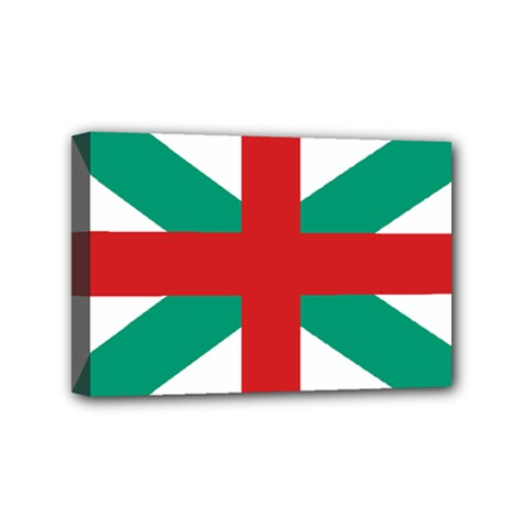 Naval Jack Of Bulgaria Mini Canvas 6  X 4