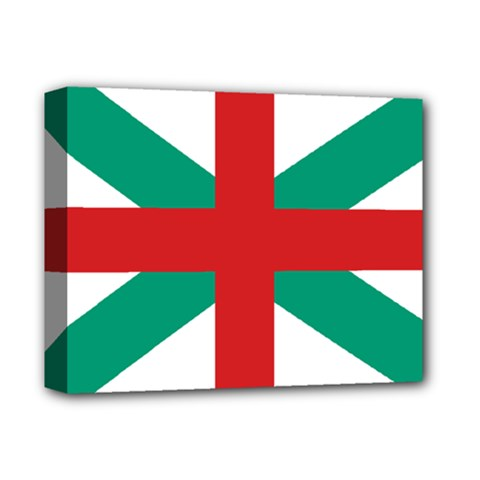 Naval Jack Of Bulgaria Deluxe Canvas 14  X 11