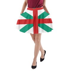 Naval Jack Of Bulgaria A Line Pocket Skirt by abbeyz71
