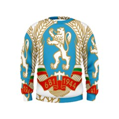 Coat Of Arms Of People s Republic Of Bulgaria, 1971 1990 Kids  Sweatshirt