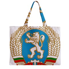 Coat Of Arms Of People s Republic Of Bulgaria, 1971 1990 Medium Tote Bag