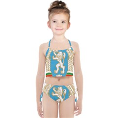 Coat Of Arms Of People s Republic Of Bulgaria, 1971 1990 Girls  Tankini Swimsuit