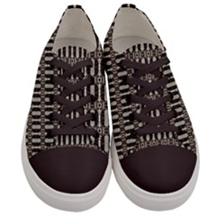 Tardy Men s Low Top Canvas Sneakers