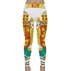 Coat Of Arms Of Bulgaria Classic Yoga Leggings
