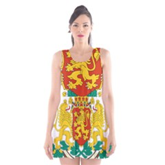 Coat Of Arms Of Bulgaria Scoop Neck Skater Dress