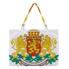 Coat Of Arms Of Bulgaria Medium Tote Bag