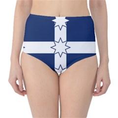 Eureka Flag Classic High Waist Bikini Bottoms