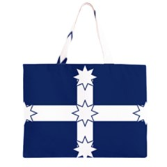 Eureka Flag Zipper Large Tote Bag by abbeyz71
