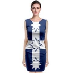 Eureka Flag Classic Sleeveless Midi Dress