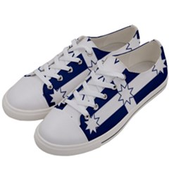 Eureka Flag Women s Low Top Canvas Sneakers by abbeyz71