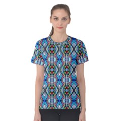 Artwork By Patrick Colorful 34 Women s Cotton Tee