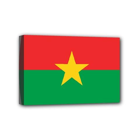 Roundel Of Burkina Faso Air Force Mini Canvas 6  X 4  by abbeyz71