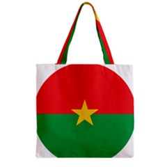 Roundel Of Burkina Faso Air Force Grocery Tote Bag
