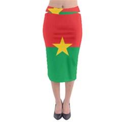 Roundel Of Burkina Faso Air Force Midi Pencil Skirt