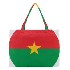 Roundel Of Burkina Faso Air Force Medium Tote Bag by abbeyz71