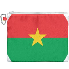 Roundel Of Burkina Faso Air Force Canvas Cosmetic Bag (xxxl)