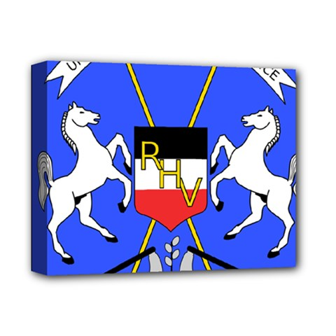 Coat Of Arms Of Upper Volta Deluxe Canvas 14  X 11  by abbeyz71