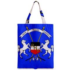 Coat Of Arms Of Upper Volta Zipper Classic Tote Bag