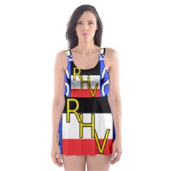 Coat Of Arms Of Upper Volta Skater Dress Swimsuit by abbeyz71