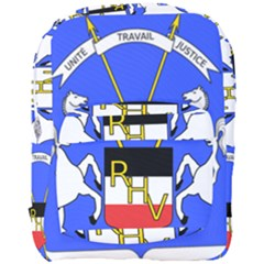 Coat Of Arms Of Upper Volta Full Print Backpack by abbeyz71