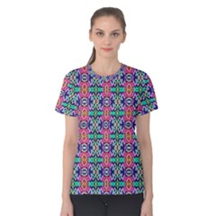 Artwork By Patrick Colorful 34 1 Women s Cotton Tee