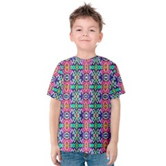 Artwork By Patrick Colorful 34 1 Kids  Cotton Tee